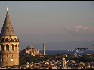 Galata Kulesi Ayasofya