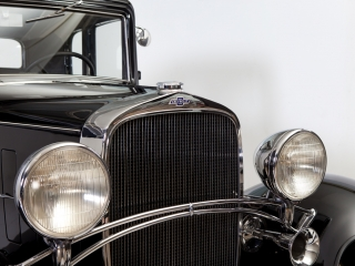 CHEVROLET CONFEDERATE BA COUPE 1932