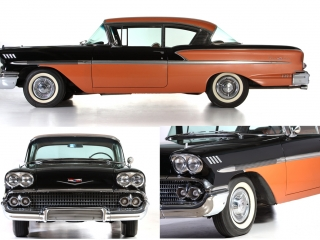 CHEVROLET BELAIR COUPE 1958