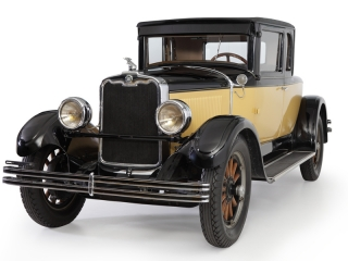 PEERLES MODEL 6-80 BOATTAIL COUPE 1928