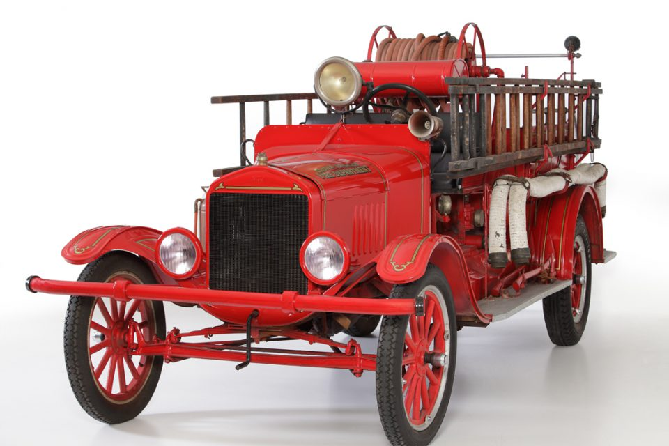 Ford Model-TT Boyer Fire Truck 1925